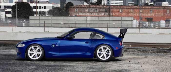 bmw z4 m e86 nouveau modèle coupé de la marque allemande