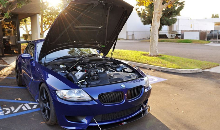 BMW offre de bonnes performance dans son coupé Z4 E86
