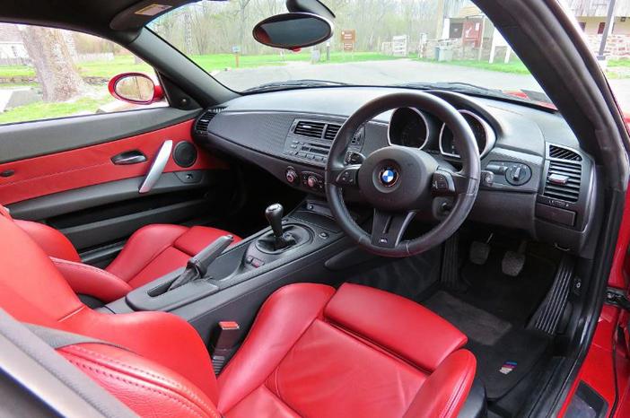 Du cuir de qualité et in intérieur sport pour le modèle Z4 E86 BMW