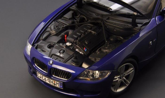 BMW confectionne un corps rigide sur sa nouvelle coupé Z4 E86